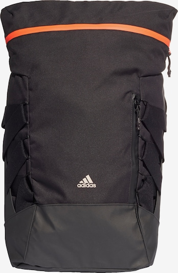 ADIDAS PERFORMANCE Rucksack in orange / schwarz, Produktansicht