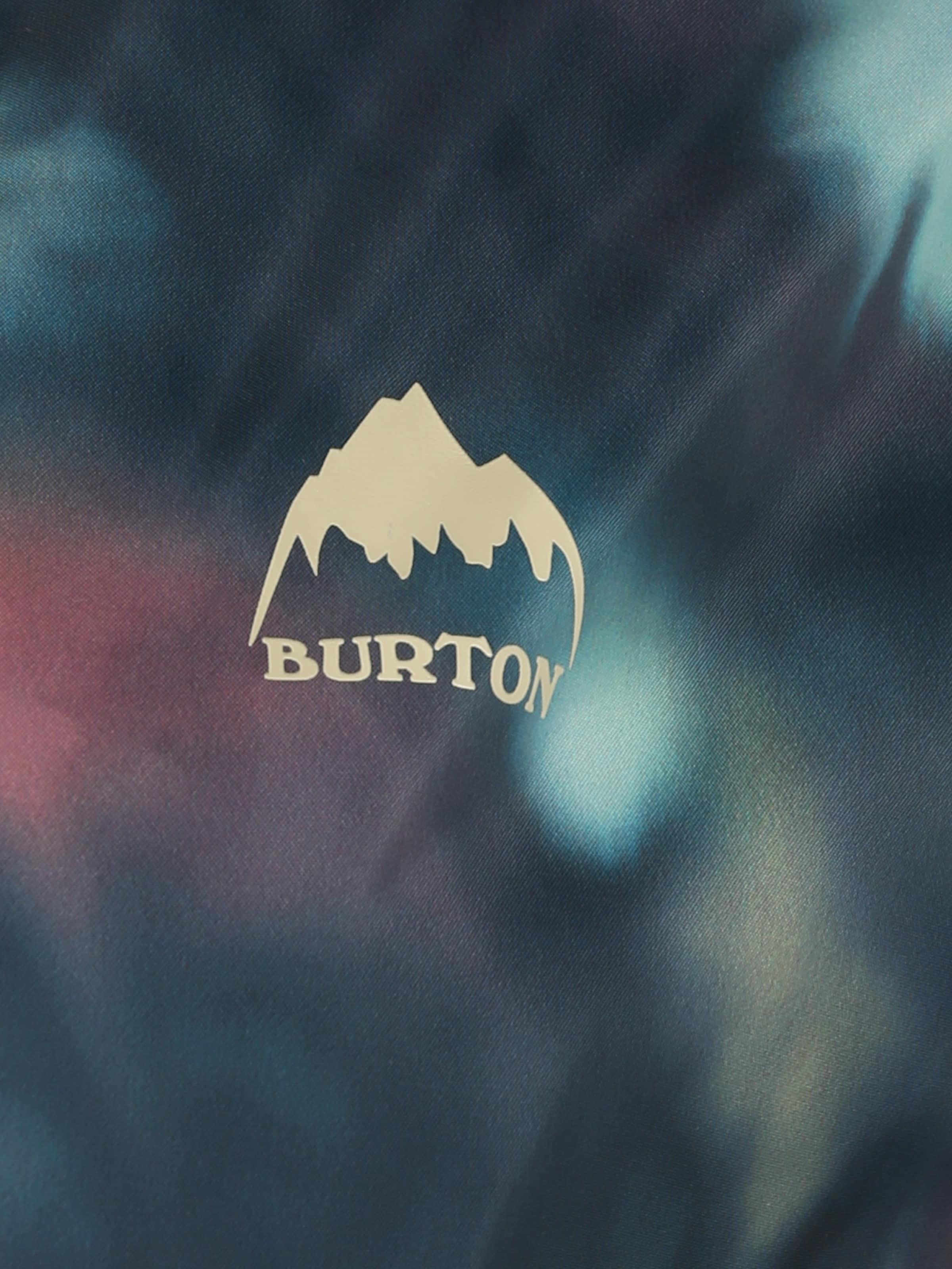 BURTON Vinterjacka 'Hazlett Packable' i nattblå / aqua / persika