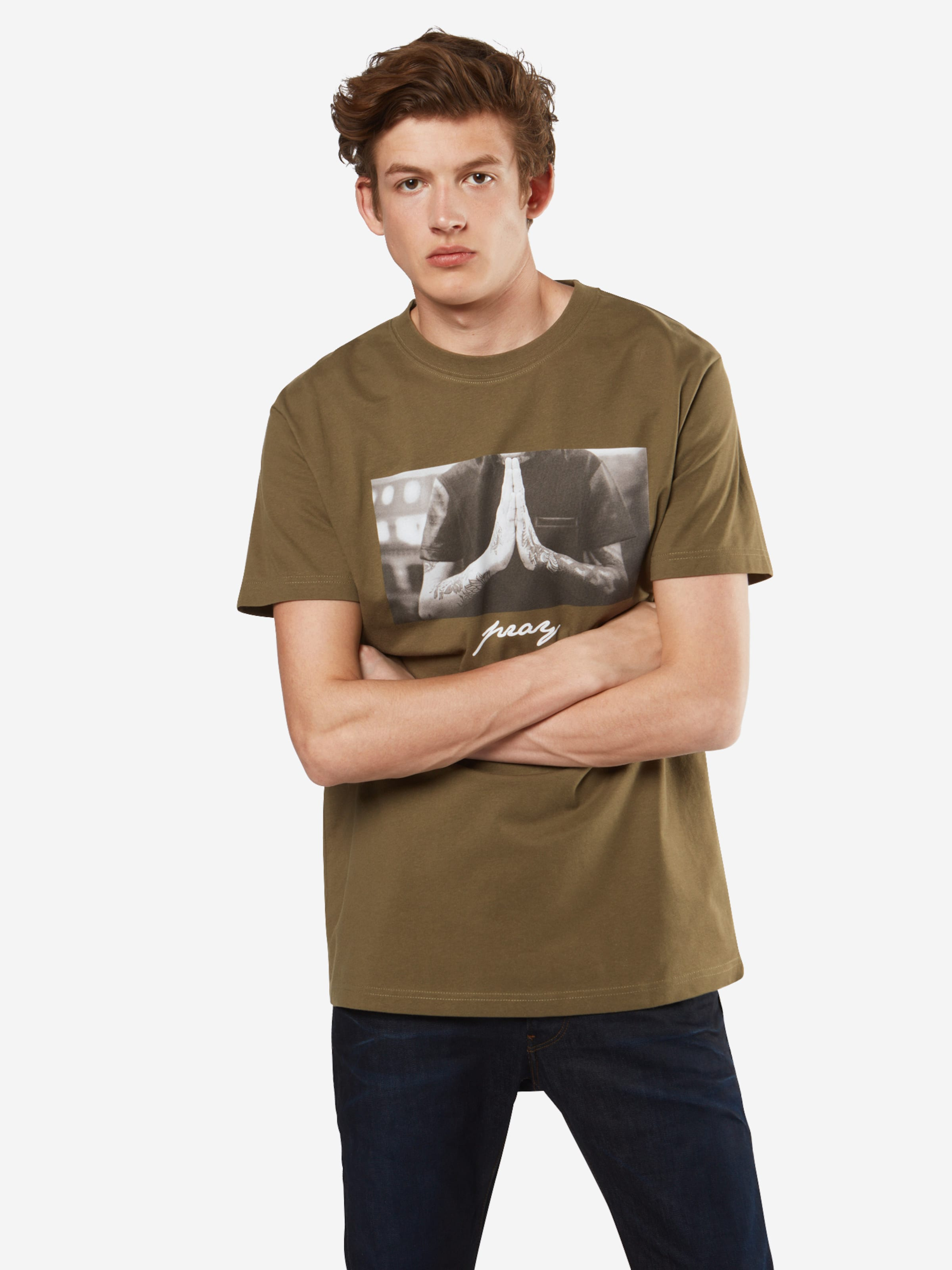 shirt In Tee GrauOliv T 'pray Black' Mister JcKlTF1