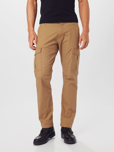 JACK & JONES Hose in beige, Modelansicht