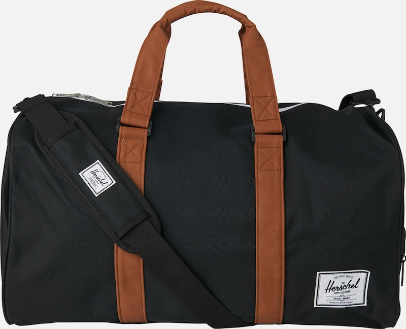 Herschel Weekender 'Novel' in bronze / schwarz, Produktansicht