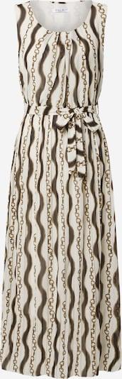 ZABAIONE Kleid 'Sylvie' in gold / schwarz / weiß, Produktansicht