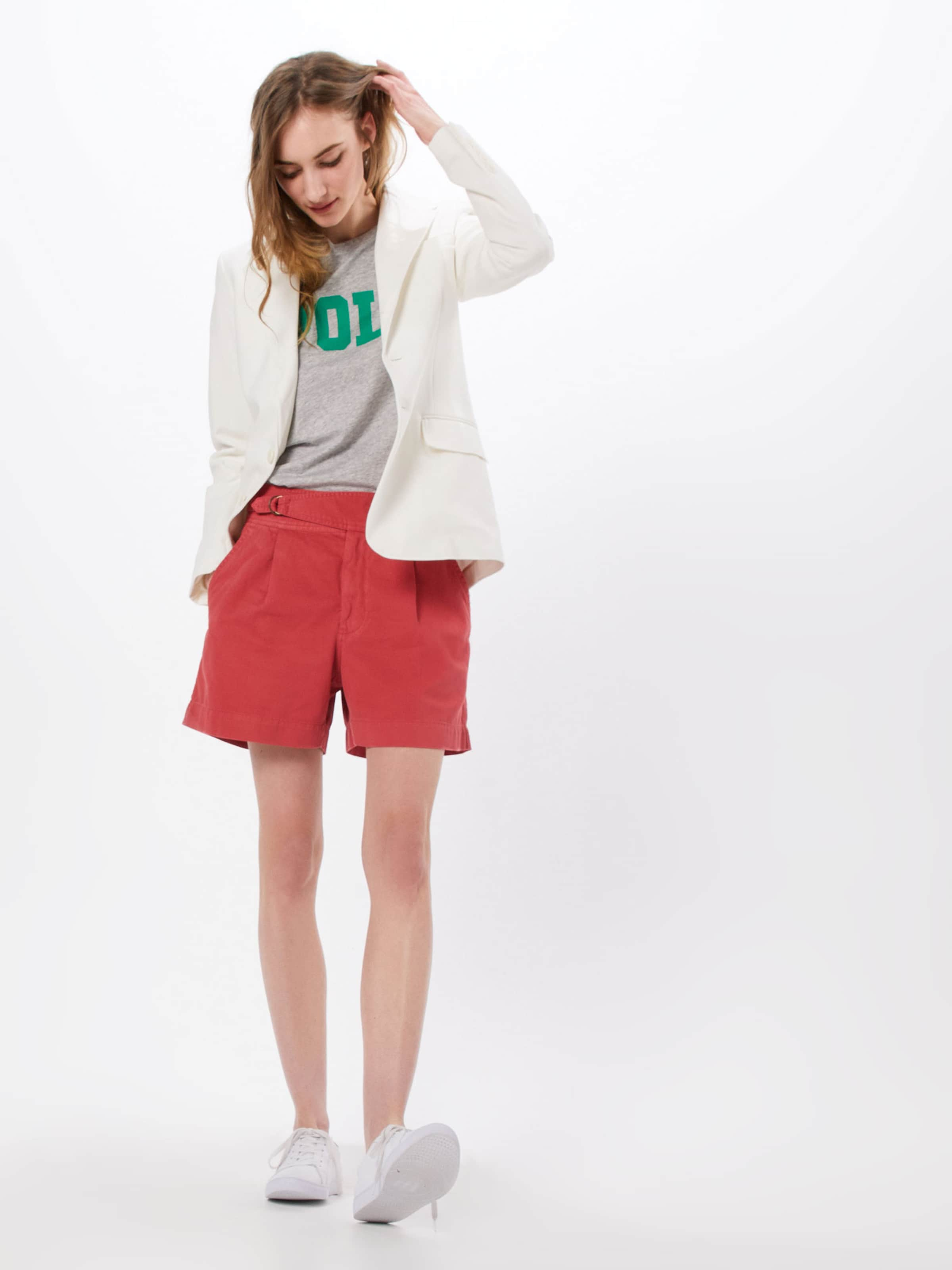 Polo Ralph short' Sot En Pantalon tailored Rouge Elra Lauren 'n 8n0kXOPZNw