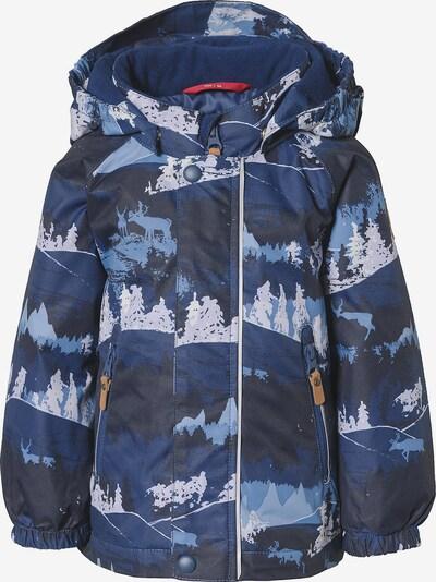 Reima Winterjacke 'Ruis' in nachtblau / mischfarben, Produktansicht