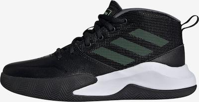 ADIDAS PERFORMANCE Sportschuh 'Own the Game' in dunkelgrün / schwarz / weiß, Produktansicht