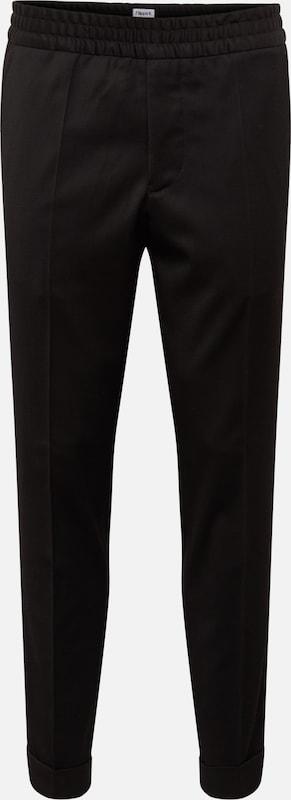 Filippa Plis 'mTerry K Pantalon Trouser' En Noir À Cropped Gabardine NwvOy80Pmn