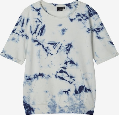 NAME IT Batik T-Shirt in weiß: Frontalansicht