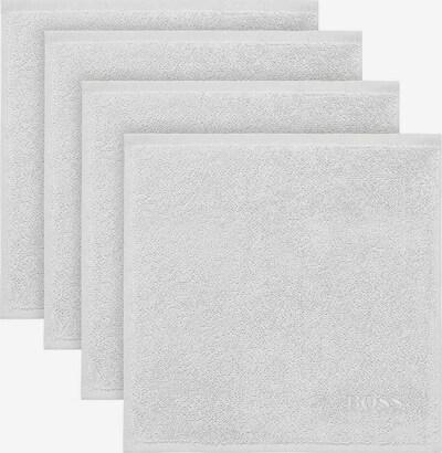 BOSS Home Waschlappen Plain in weiß, Produktansicht