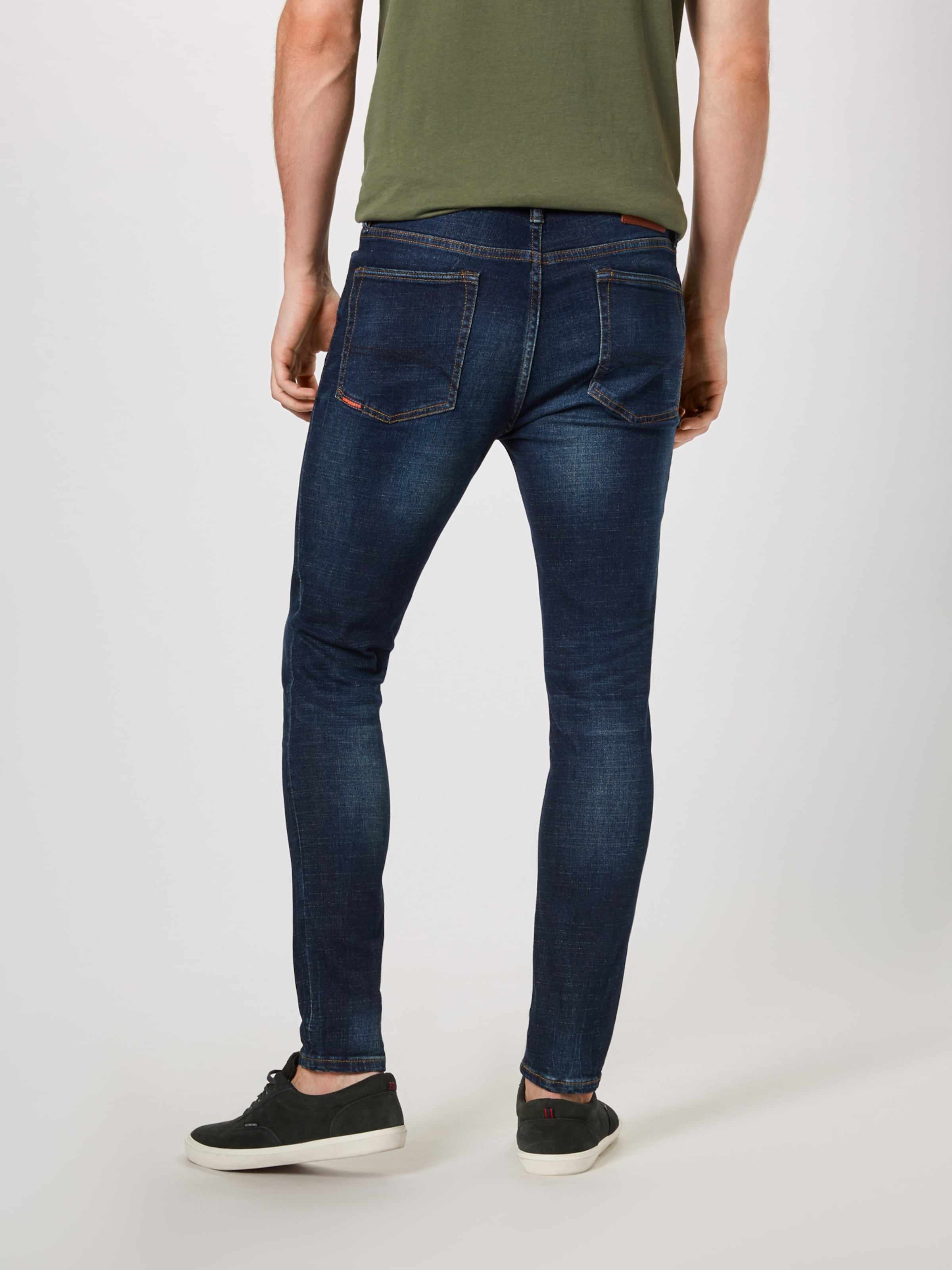 'travis In Denim Blue Superdry Skinny' Jeans E2bW9YeDHI