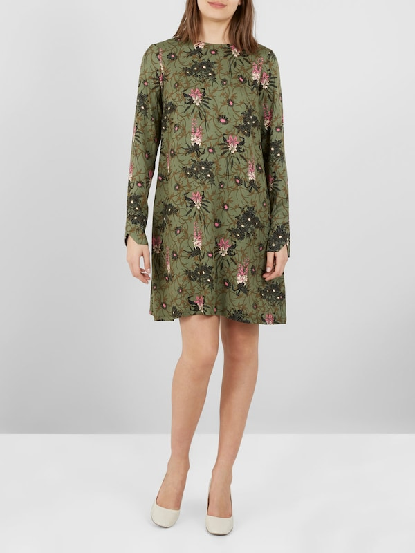 Yas Floral Print Mini Dress Short
