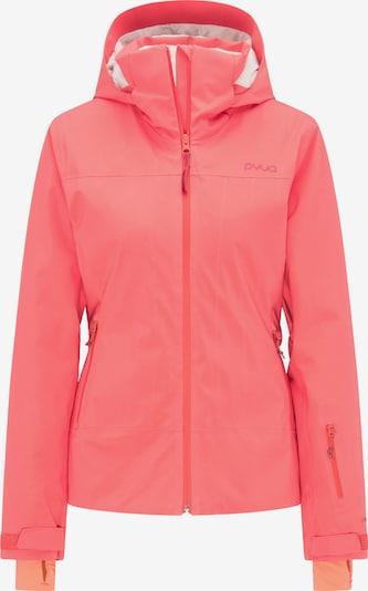 PYUA Skijacke 'Blister' in pink, Produktansicht