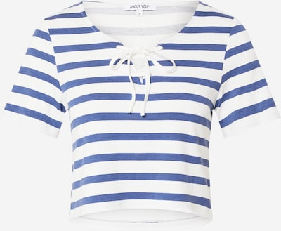 ABOUT YOU Shirt 'Shirin' in blau / weiß, Produktansicht