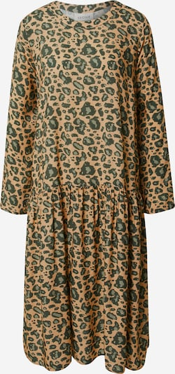 Cecilie Copenhagen Sukienka 'José' w kolorze beżowy / khakim: Widok z przodu