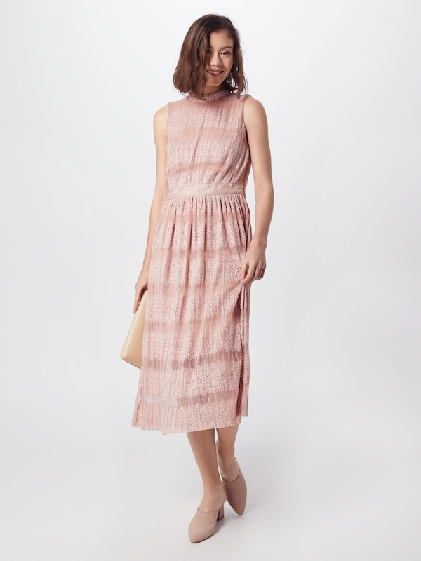 VILA Kleid 'VILACINA S L L L MIDI DRESS ZA' in Rosa  Neue Kleidung in dieser Saison bc3484