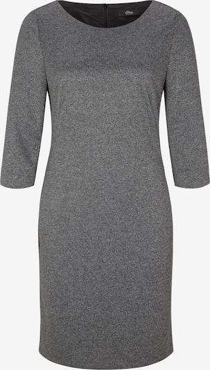 s.Oliver BLACK LABEL Kleid in graumeliert, Produktansicht