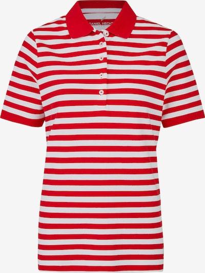 DANIEL HECHTER Shirt in hellrot / weiß, Produktansicht