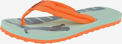PUMA Zehentrenner 'Epic Flip V2 PS' in mint / orange, Produktansicht