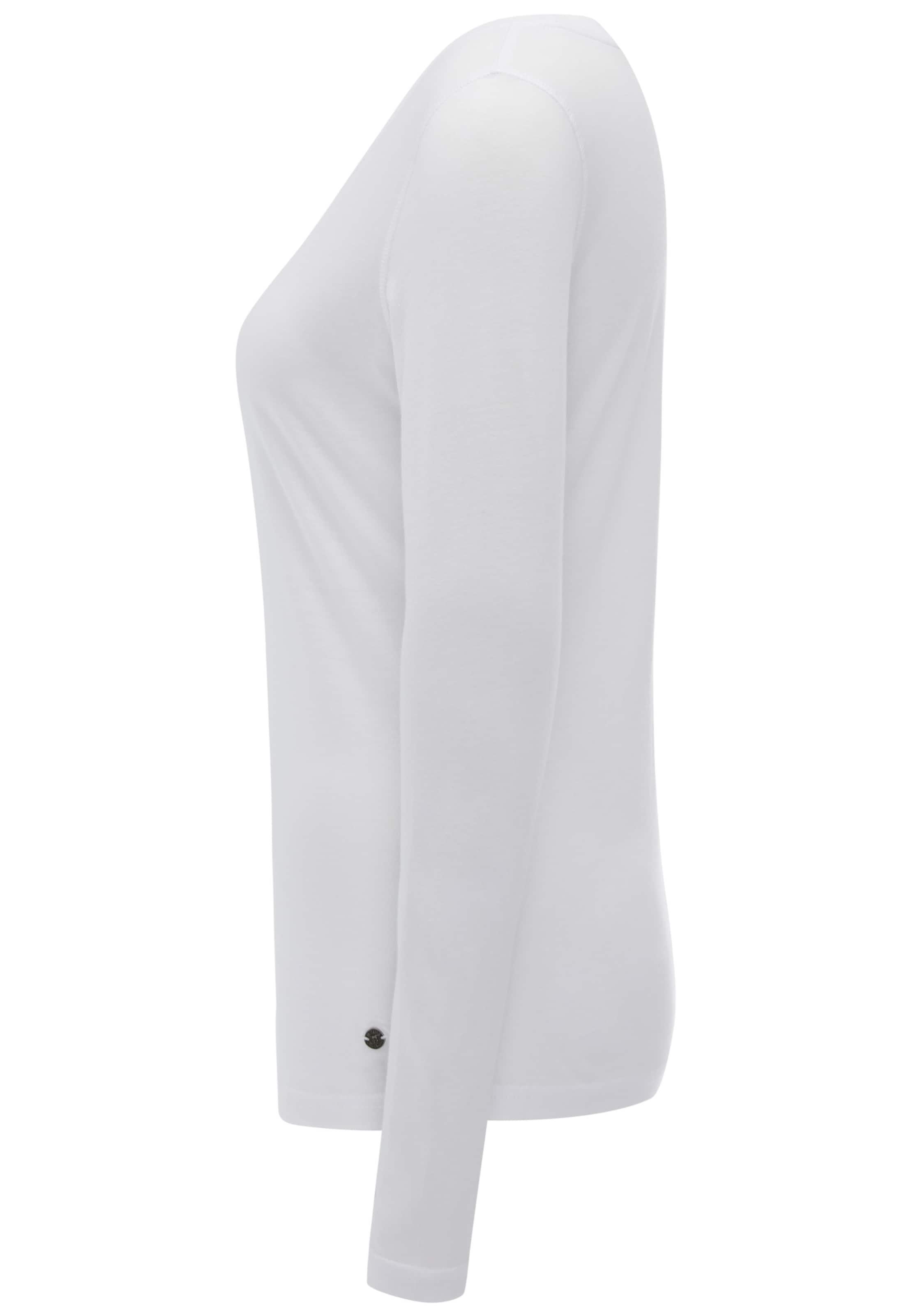 'longsleeve' Weiß Mustang shirt In T v0OmN8ynw