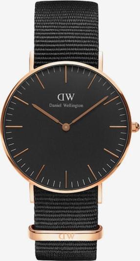 Daniel Wellington Uhr 'Cornwall, DW00100150' in rosegold / schwarz, Produktansicht