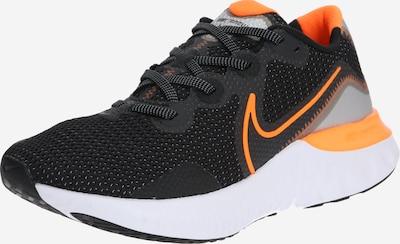 NIKE Laufschuh 'Renew Run' in orange / schwarz / weiß, Produktansicht