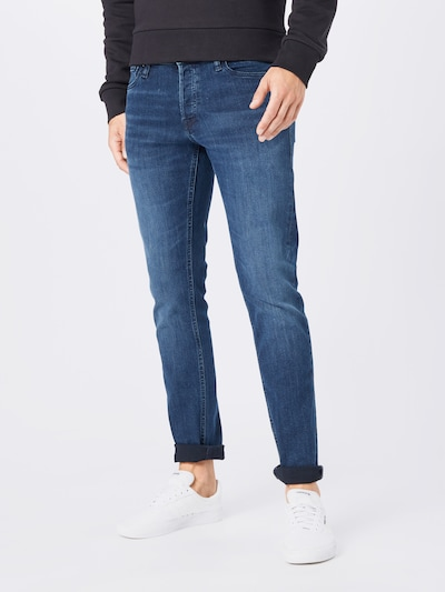 JACK & JONES Jeans 'Glenn Original AM 812' in de kleur Donkerblauw, Modelweergave