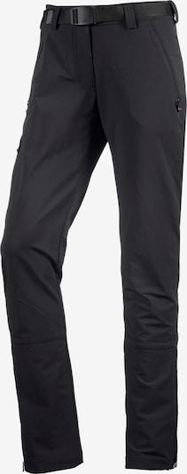 Maier Sports Trekkinghose 'Lana' in schwarz, Produktansicht