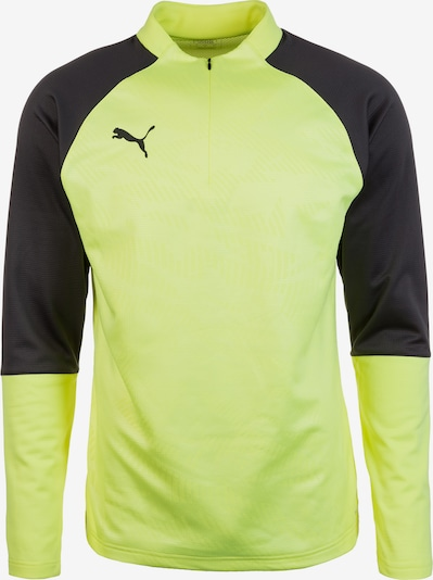 PUMA Trainingsshirt 'Cup' in gelb / anthrazit, Produktansicht