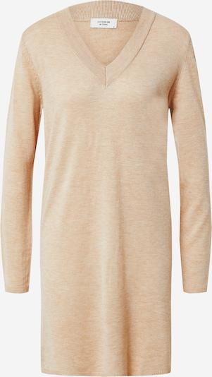 JACQUELINE de YONG Pletena haljina 'Zoe' u bež melange, Pregled proizvoda