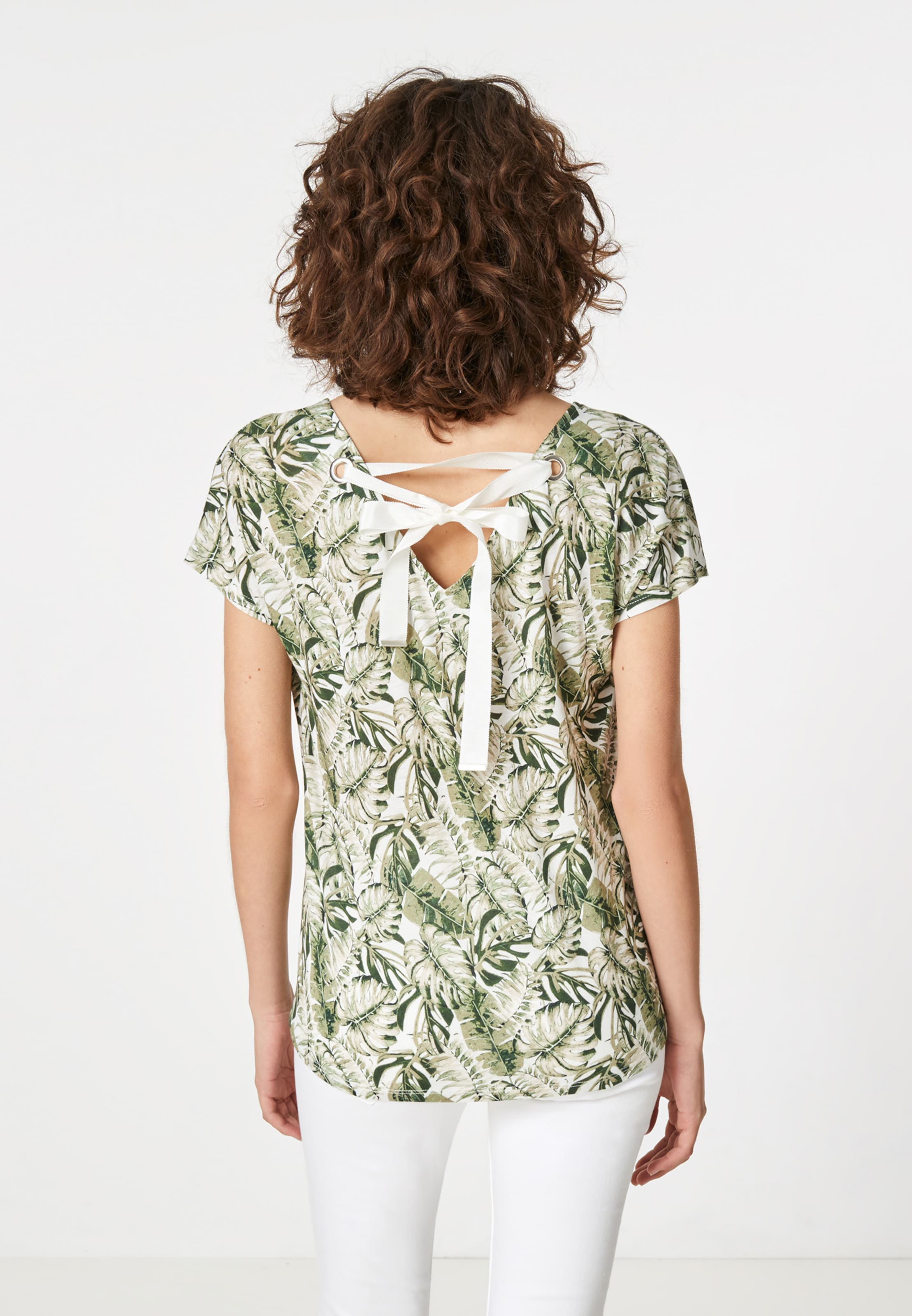 GrasgrünNaturweiß shirt Hallhuber Hallhuber shirt shirt Hallhuber V V In V GrasgrünNaturweiß In qzMSVGUp