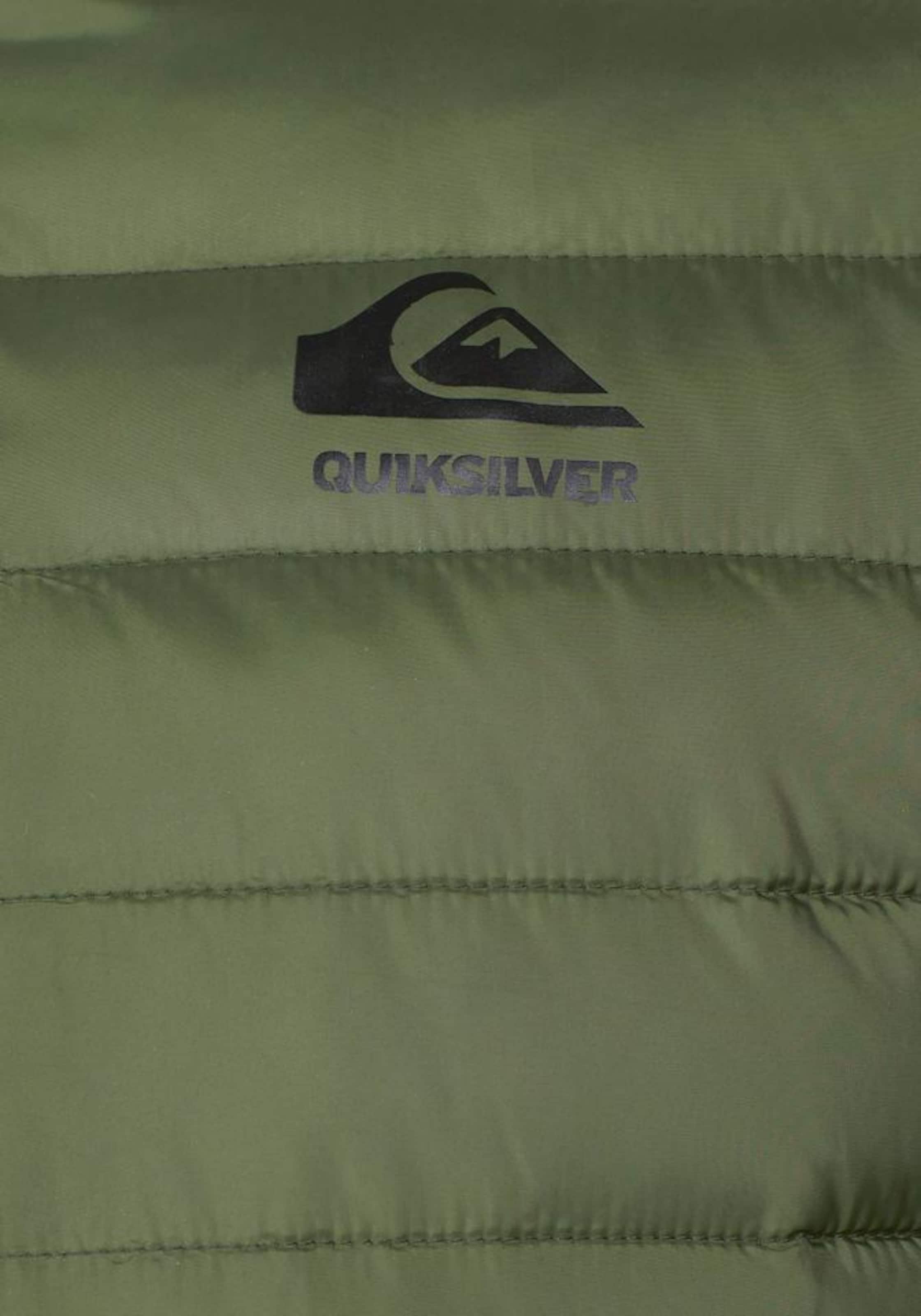 Steppjacke 'shaldy' Oliv In Quiksilver Quiksilver L4j35qAR