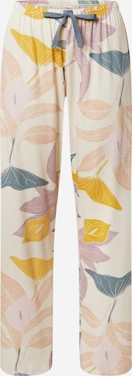 CALIDA Spodnie od piżamy w kolorze beżowy / żółty / miętowy / różowy pudrowym, Podgląd produktu