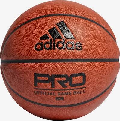 ADIDAS PERFORMANCE Basketball in dunkelorange / schwarz, Produktansicht