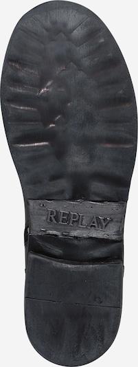 REPLAY Boots 'DUSTER' in beige / dunkelgelb / schwarz / weiß: Ansicht von unten