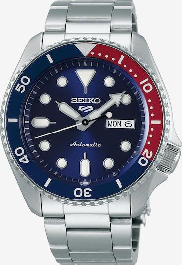 SEIKO Uhr in dunkelblau / rot / silber, Produktansicht
