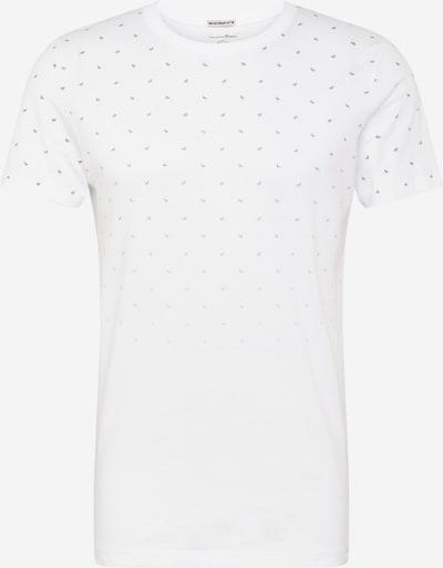 TOM TAILOR DENIM T-Shirt en noir / blanc, Vue avec produit