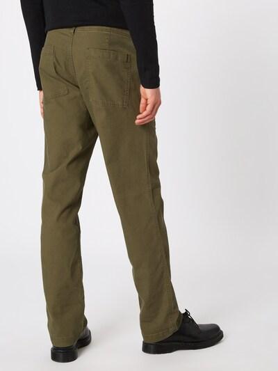 GAP Kalhoty - olivová: Pohled zezadu