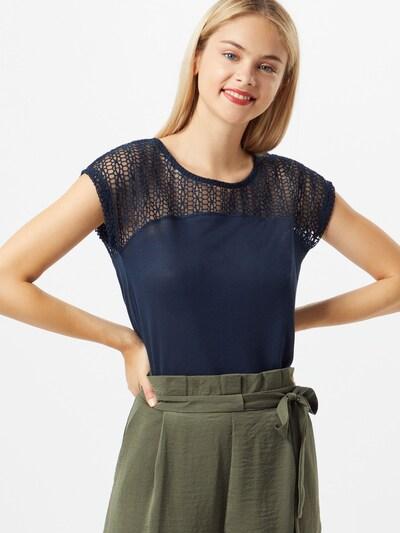 Sublevel Koszulka w kolorze niebieskim: Widok z przodu