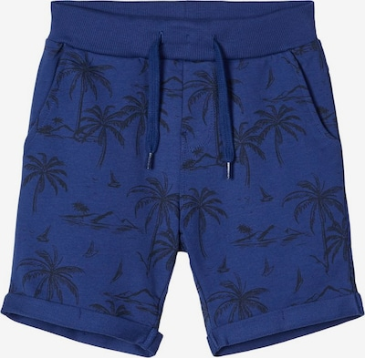 NAME IT Sweatshorts in blau, Produktansicht