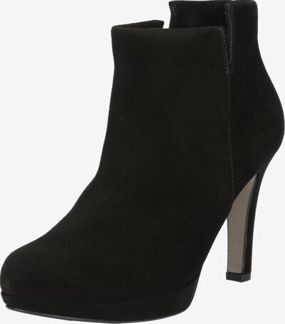 Kulkšnis dengiantys batai iš Paul Green , spalva - juoda: Vaizdas iš priekio