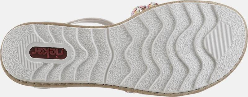 Haltbare Mode billige Schuhe RIEKER | Riemchensandale Schuhe Gut Gut Gut getragene Schuhe c7dfb1