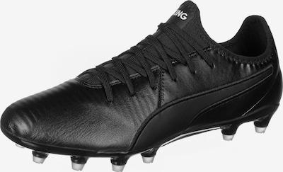 PUMA Fußballschuh in schwarz / weiß, Produktansicht