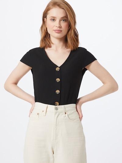 ONLY Blouse in de kleur Zwart, Modelweergave