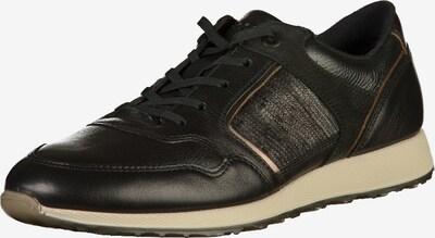 ECCO Sneaker in gold / schwarz: Frontalansicht