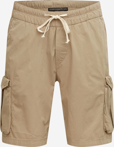 DRYKORN Pantalon cargo 'DOUBLE' en beige, Vue avec produit