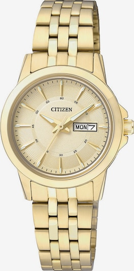 "CITIZEN Citizen, Armbanduhr, ""EQ0603-59PE"" in gold, Produktansicht"