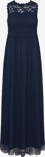 VILA Avondjurk 'Lynnea' in de kleur Donkerblauw: Vooraanzicht