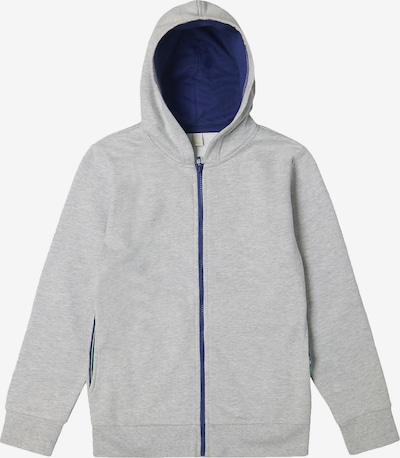 ESPRIT Sweatjacke in blau / grau, Produktansicht