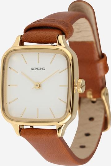 Komono Uhr 'KATE' in braun / gold, Produktansicht