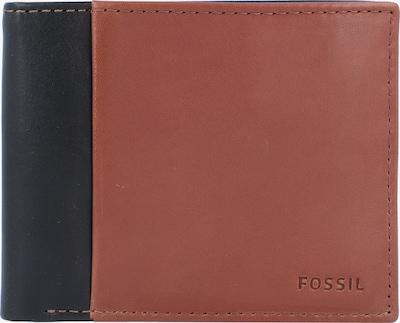 FOSSIL Portemonnee 'Ward' in de kleur Bruin / Zwart, Productweergave