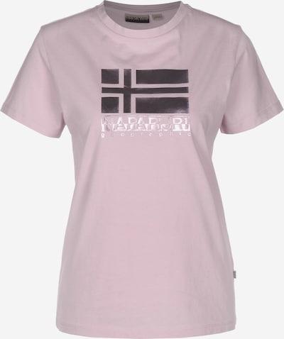 NAPAPIJRI T-Shirt in lila, Produktansicht